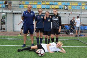Aż cztery piłkarki Amatora Kiełpino na zgrupowaniu kadry Pomorza U14