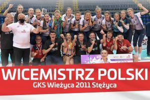 Wieżyca 2011 Stężyca wicemistrzem Polski juniorek. W finale lepszy Kalisz
