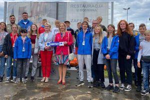Srebra żeglarzy Lamelki Kartuzy i ŻUKS Stężyca w Mistrzostwach Polski Klasy Cadet 2020