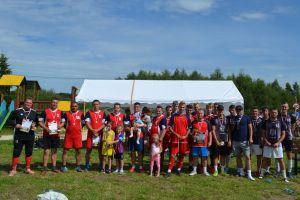 Zielony Dwór zwycięzcą Turnieju Piłki Nożnej o Puchar Sołectwa Bącka Huta w Szopie 2020