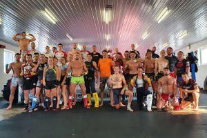 Dwie kadry narodowe kickbokserów trenowały na obozie w Kartuzach