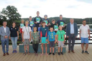 Żeglarze rywalizowali w Mistrzostwach Pomorza w Klasie Cadet i Old Boys Regatta na Złotej Górze