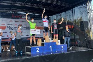 Szymon Pomian z Cartusii Kartuzy mistrzem Polski juniorów w maratonie MTB