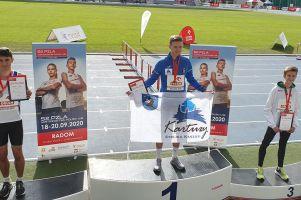 Krzysztof Różnicki mistrzem Polski U18 w biegu na 800 metrów. Filip Lewandowski na szóstym miejscu