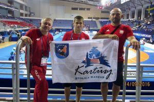 Aleksander Mielewczyk na 11. miejscu w Mistrzostwach Świata Kadetów w Zapasach 2016 w Gruzji