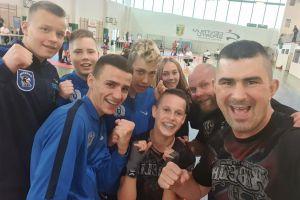 Damian Czaja i Kacper Śleszyński na podium Mistrzostw Polski Kadetów w Kickboxingu 2020