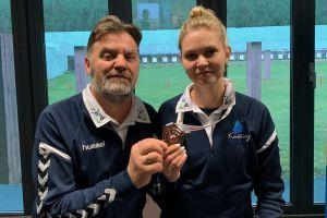 Diana Malotka - Trzebiatowska medalistką Młodzieżowych Mistrzostw Polski w Strzelectwie Sportowym