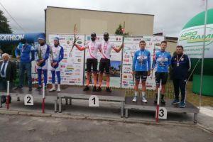 Brązowy medal kolarzy Cartusii w Mistrzostwach Polski w Jeździe Dwójkami i Drużynowej