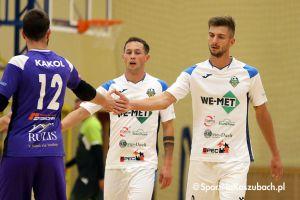 TAF Toruń - We - Met Futsal Club. Rewelacyjny beniaminek I ligi wygrywa też na wyjazdach