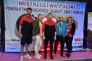 Patryk Borzestowski zdobył mistrzostwo Polski w martwym ciągu