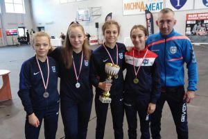 Cztery medale zapaśniczek Cartusii w Międzywojewódzkich Mistrzostwach Młodziczek w Pelplinie