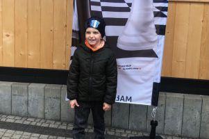Michał Zielonka z kartuskiego Ormuzda zagrał w Mistrzostwach Dzieci w Szachach