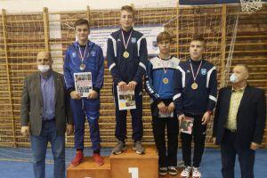 Pięć medali zapaśników Moreny i Cartusii podczas Międzywojewódzkich Mistrzostw Młodzików w Żukowie