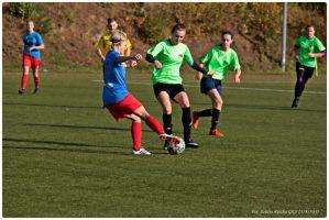 Piłkarki GKS-u Żukowo i Panter Sierakowice zagrały w derbach na zakończenie rundy jesiennej IV ligi