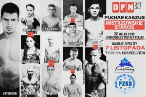Gala sportów walki Duet Fight Night 21 - Puchar Kaszub 2020 w Kartuzach już 7 listopada