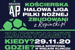 Inauguracja Kościerskiej Halowej Ligi Piłki Nożnej w tę niedzielę