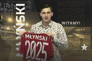 Mateusz Młyński ma nowy klub. Podpisał kontrakt z Wisłą Kraków