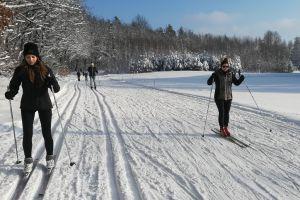 Narciarze Cartusii i nie tylko trenują na trasach Cartusia SkiArena