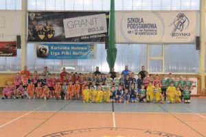 Granit Cup 2020/2021. Rocznik 2012 zakończył cykl turniejów halowych w Kartuzach