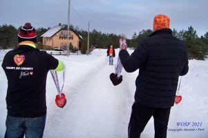 Sportowcy w Stężycy biegli, maszerowali i wspierali WOŚP