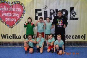 Młodzi zawodnicy z Żukowa i Bytowa rozegrali turniej piłki nożnej z okazji WOŚP