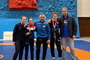 Wygrana Dominiki Konkel, medal debiutantki Klaudii Merchel w I Pucharze Polski Kadetek w Zapasach