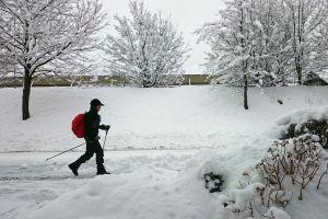 Charytatywny marsz nordic walking ze Stowarzyszeniem Kamienicki Młyn w niedzielę 14 lutego
