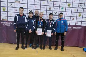 Dwa medale młodych kartuzian w I Pucharze Polski Seniorów w Zapasach