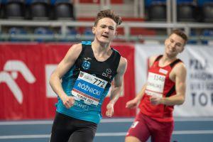 Krzysztof Różnicki halowym mistrzem Polski U20 w biegu na 800 metrów