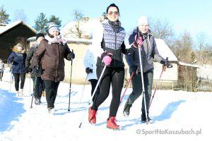 Charytatywny marsz nordic walking dla Witka w Kamienickim Młynie