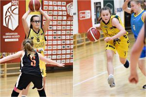Lidia Leman i Nicola Flis brązowymi medalistkami Ogólnopolskiej Olimpiady Młodzieży w Koszykówce