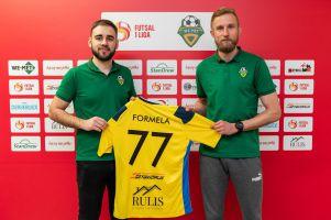 Artur Formela i Kacper Paninski w We - Met Futsal Clubie. Zagrają już w niedzielę z Legią