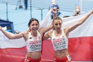 Angelika Cichocka brązową medalistką Halowych Mistrzostw Europy 2021 w Toruniu