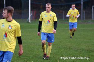 Amator Kiełpino - Kaszubia Studzienice. Bramka w 92. minucie dała awans zespołowi A klasy