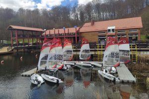 Sezon żeglarski 2021 w CSWiPR na Złotej Górze oficjalnie otwarty