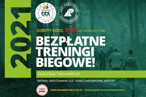 Ruszają bezpłatne treningi biegowe w Kartuzach w ramach akcji