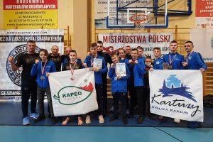 Sześć medali Rebelii Kartuzy w Mistrzostwach Polski Kick- Light Kadetów i Light - Contact Juniorów