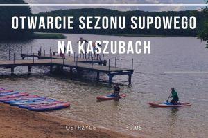 Bezpłatny spływ na otwarcie sezonu SUP-owego w niedzielę w Ostrzycach