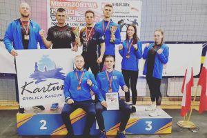 Złota Matei i Wilczewskiego, sześć medali Rebelii w Mistrzostwach Polski w Kickboxingu