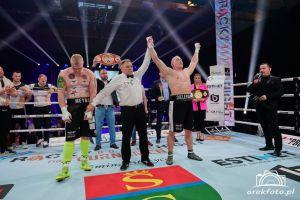 Kacper Meyna przegrał w finale Polskiego Turnieju Wagi Ciężkiej w Stężycy