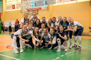 Juniorki Wieżycy 2011 brązowymi medalistkami mistrzostw Polski