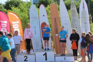 Kalina Szostek z Kartuz zwyciężczynią windsurfingowych Regat o Puchar Prezydenta Sopotu