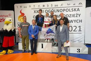 Złoto Dominiki Konkel, brąz Klaudii Merchel w Ogólnopolskiej Olimpiadzie Młodzieży