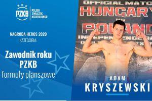 Adam Kryszewski z Rebelii Kartuzy zawodnikiem roku Polskiego Związku Kickboxingu