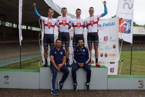 Kolarze Cartusii Kartuzy torowymi mistrzami Polski w wyścigu drużynowym