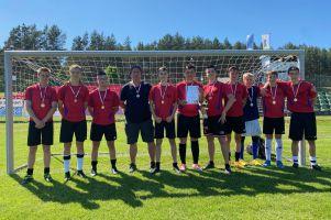 Młodzi piłkarze z Żukowa zwyciężyli w finale Igrzysk Młodzieży Szkolnej
