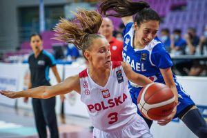 Agata Gilmajster gra w reprezentacji Polski U18 w challengerze w Grecji