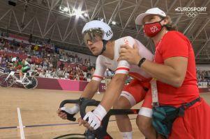 Nieudane omnium Szymona Sajnoka na Igrzyskach Olimpijskich w Tokio