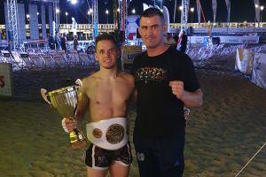 Kamil Mateja  Rebelii Kartuzy mistrzem Polski w kickboxingu proam low-kick