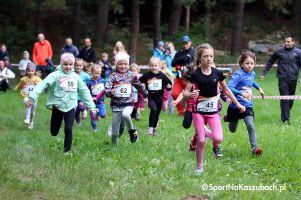 Około 200 dzieci pobiegło na wielu dystansach w Żukowskim Przełaju